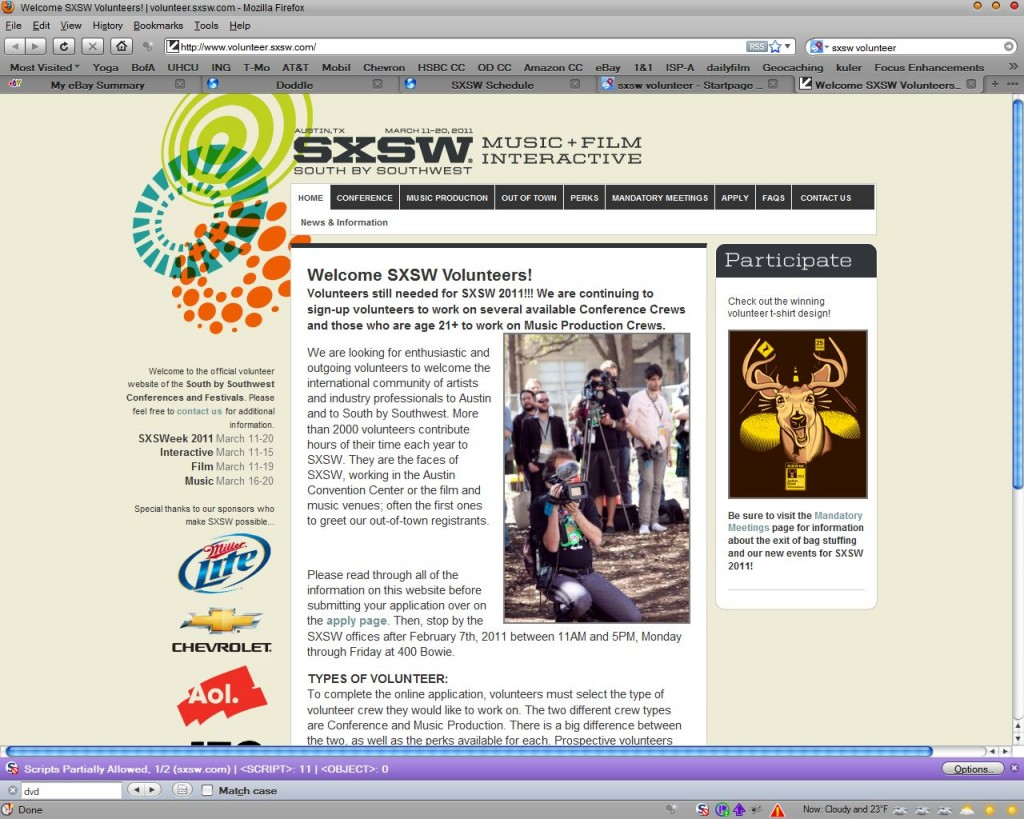 Val Gameiro writer director filmmaker SXSW Volunteer poster boy